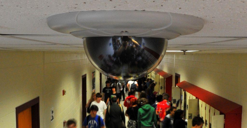 Система видеонаблюдения в школе
